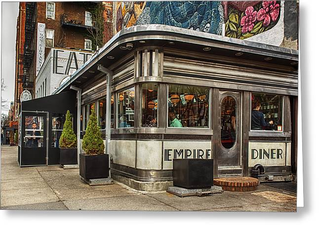 Empire Diner Greeting Card