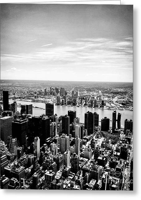 Empire State Building View, Nyc Greeting Card by JMerrickMedia