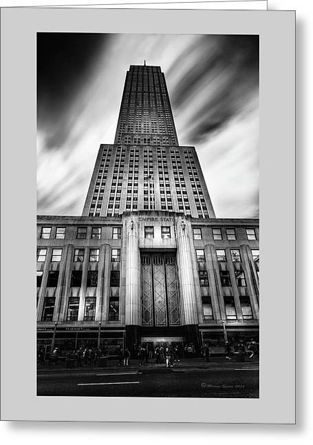 Empire State Greeting Card by Marvin Spates