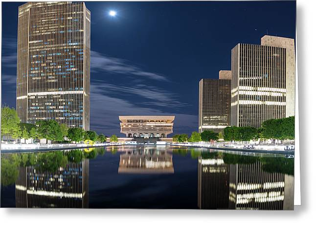 Empire State Plaza Greeting Card