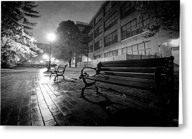 Greeting Card featuring the photograph Emptiness by Everet Regal