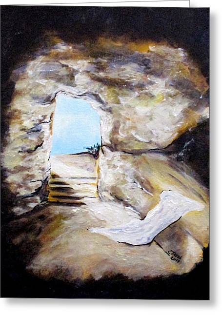 Empty Burial Tomb Greeting Card