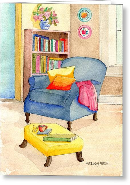 Empty Chair Series 1 Greeting Card by Melody Allen
