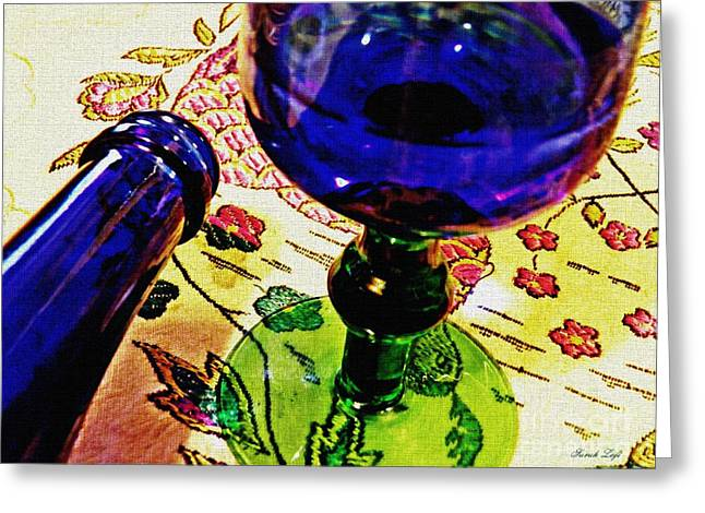 Empty Glass 2 Greeting Card