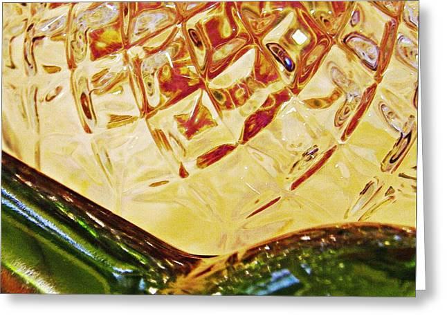 Empty Glass 3 Greeting Card by Sarah Loft