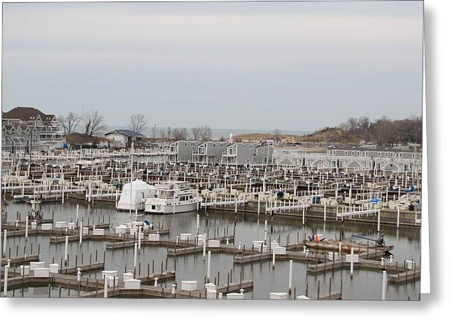 Empty Harbor Greeting Card