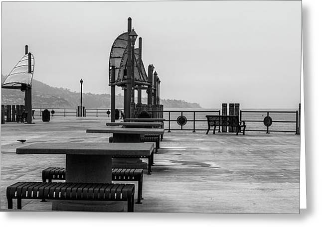 Empty Pier Greeting Card