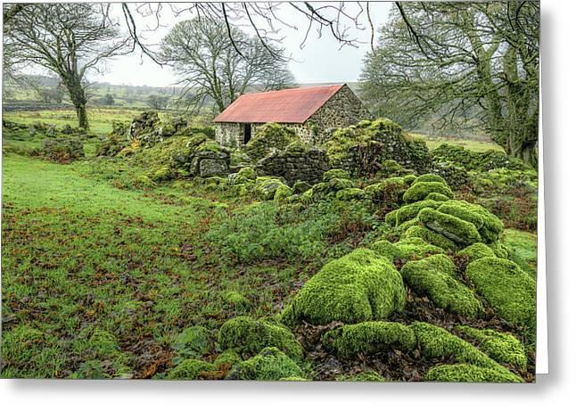 Emsworthy Farm - Dartmoor Greeting Card