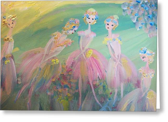 En Plein Air Ballet Greeting Card