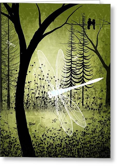 Enchanted Greeting Card by Charlene Zatloukal