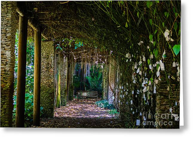 Enchanted Entrance Greeting Card
