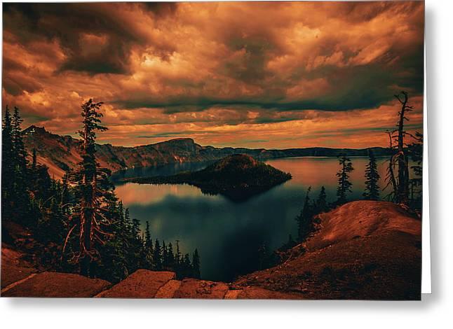 Enchanted Lake No.2 Greeting Card