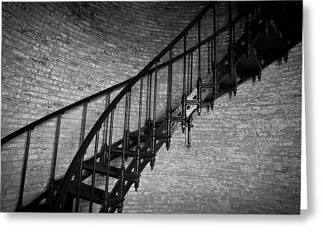Enchanted Staircase II - Currituck Lighthouse Greeting Card
