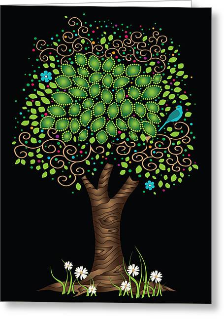 Enchanted Tree Greeting Card