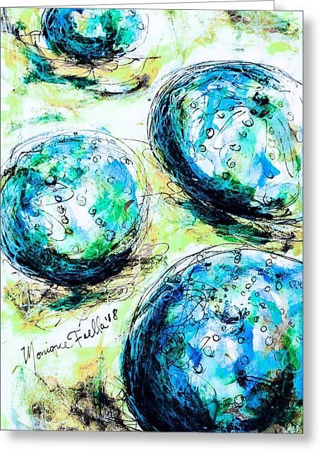 Enchanthing Sea Urchins Greeting Card