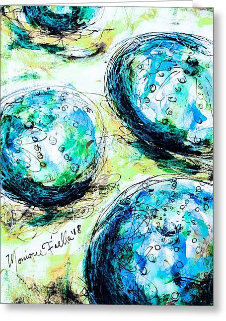 Enchanthing Sea Urchins Greeting Card