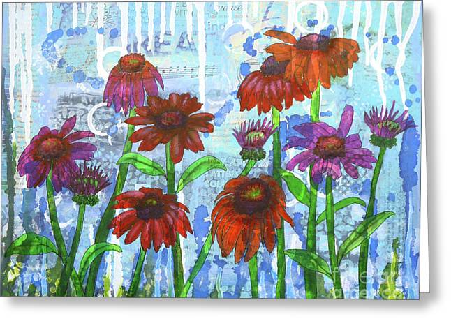 Enchanting Echinacea Greeting Card