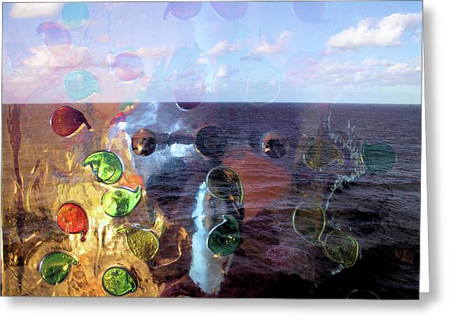 Enchantment Of The Seas Greeting Card by Richard Barone
