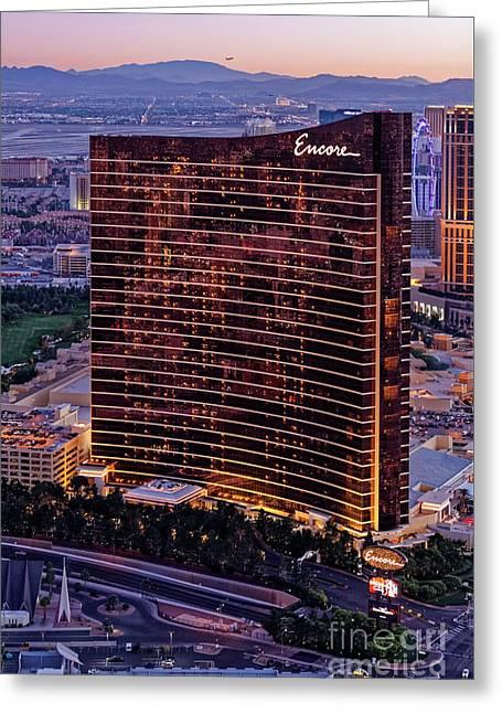 Encore Hotel, Las Vegas Greeting Card