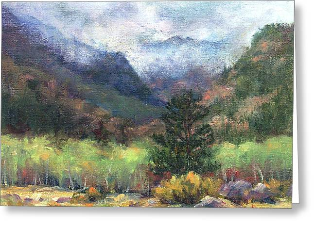 Encroaching Clouds Greeting Card by Jill Musser