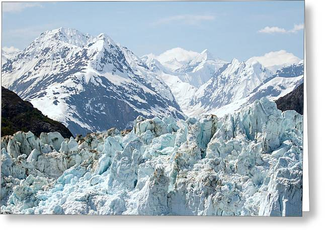 Glaciers End Of A Journey Greeting Card