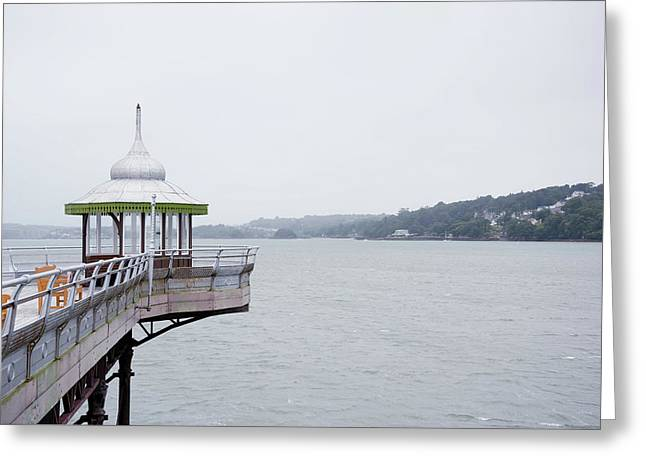 End Of A Pier Greeting Card