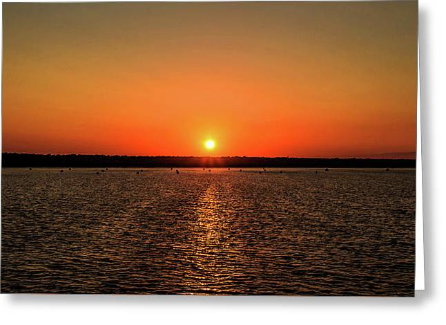 End Of Day Greeting Card by April Reppucci