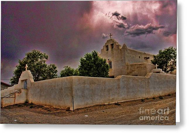 End Of Day Greeting Card by Jim Sweida