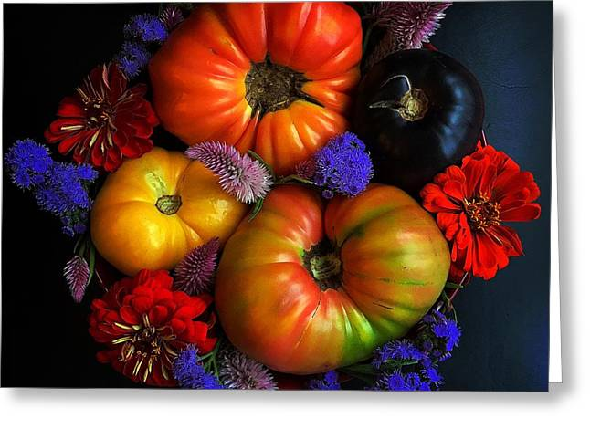 End Of Summer Colors Greeting Card