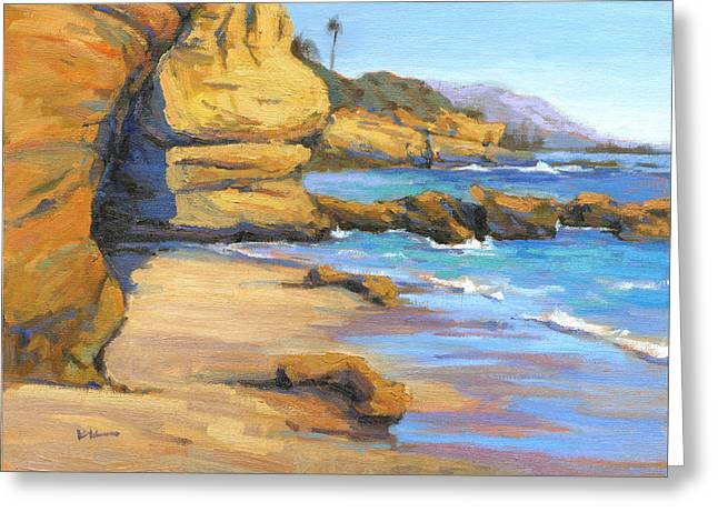 End Of Summer / Laguna Beach Greeting Card