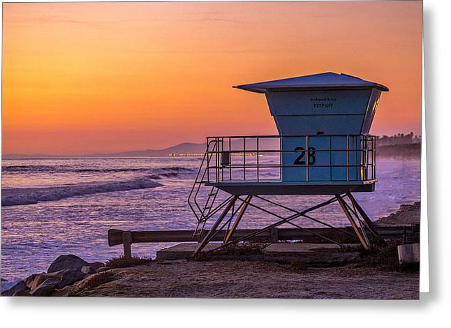 End Of Summer Greeting Card by Peter Tellone