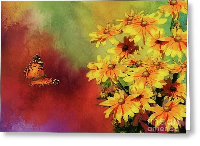 End Of Summer Greeting Card by Suzanne Handel