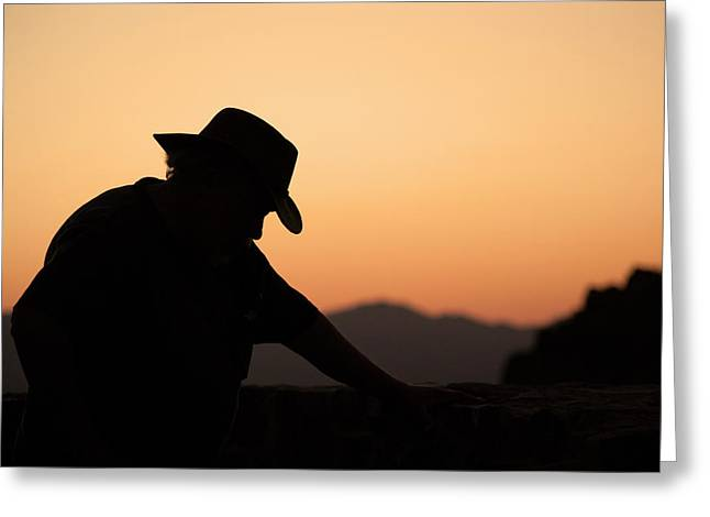Greeting Card featuring the photograph End Of The Day by Lynn Geoffroy