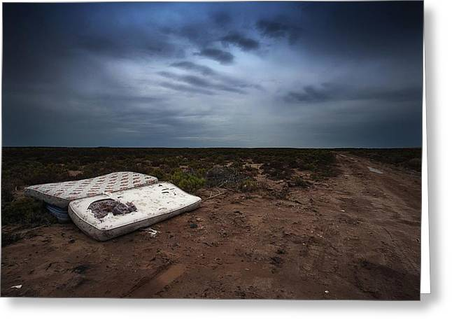 Greeting Card featuring the photograph End Of The Earth by Tim Nichols