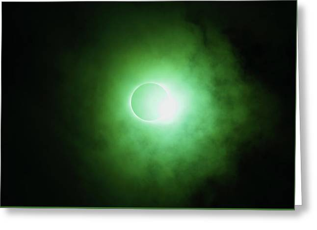End Of Totality Greeting Card