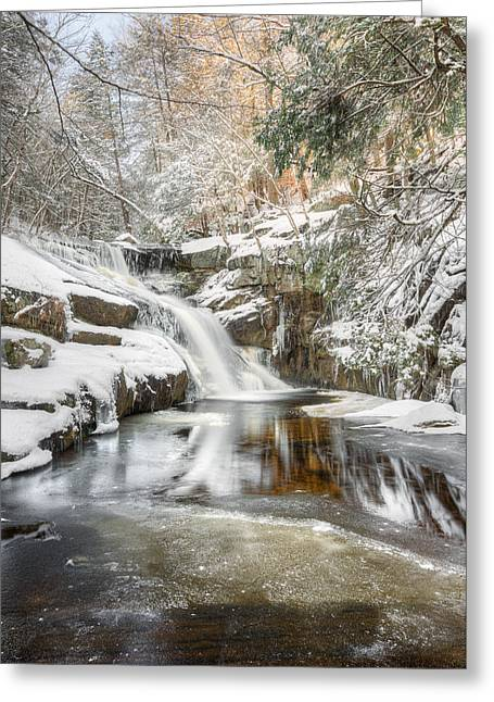 Enders Falls Winter Greeting Card