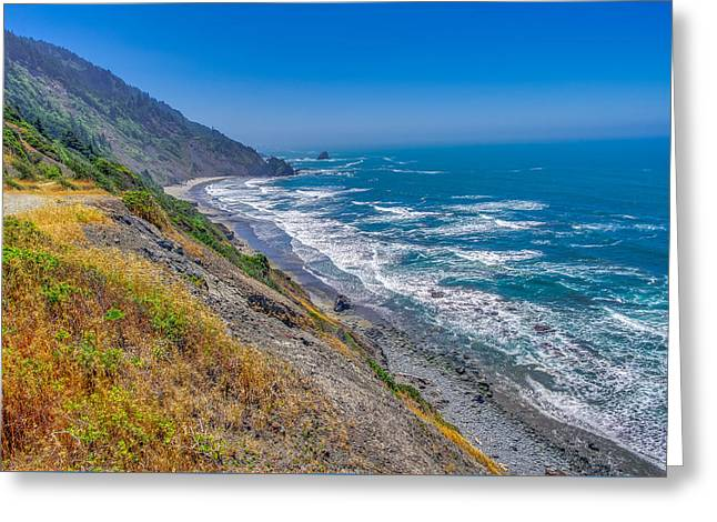 Endert's Beach Trail Redwoods National Park Greeting Card by Scott McGuire