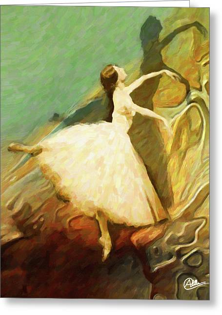 Endless Dance Greeting Card by Joaquin Abella