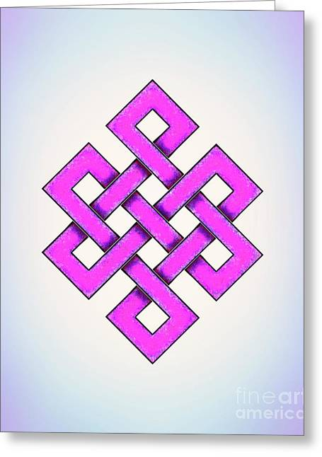 Endless Knot - Artwork 3 Greeting Card by Dirk Czarnota