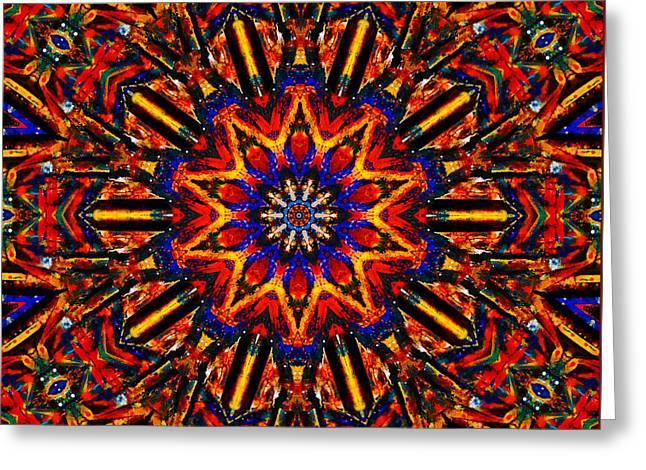 Radiance Greeting Card by Natalie Holland