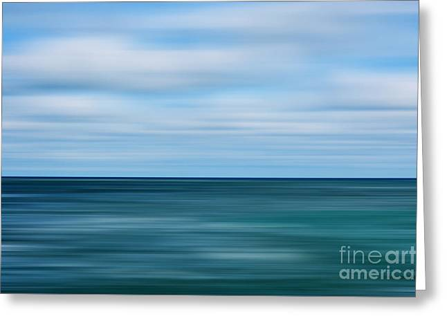 Endless Voyage On The Open Seas Greeting Card by Liesl Marelli