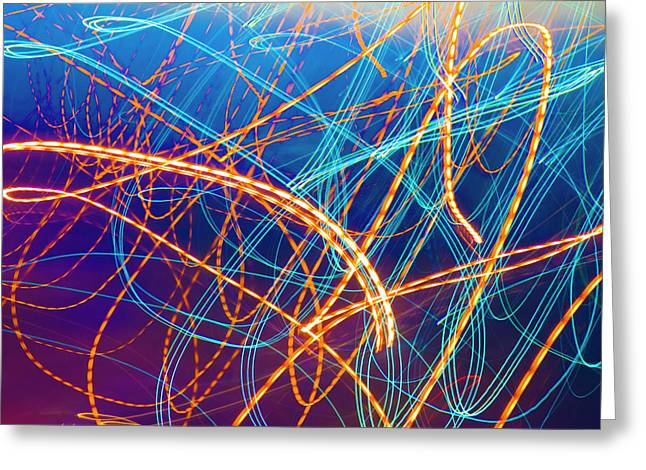 Energy Greeting Card by Betsy Knapp