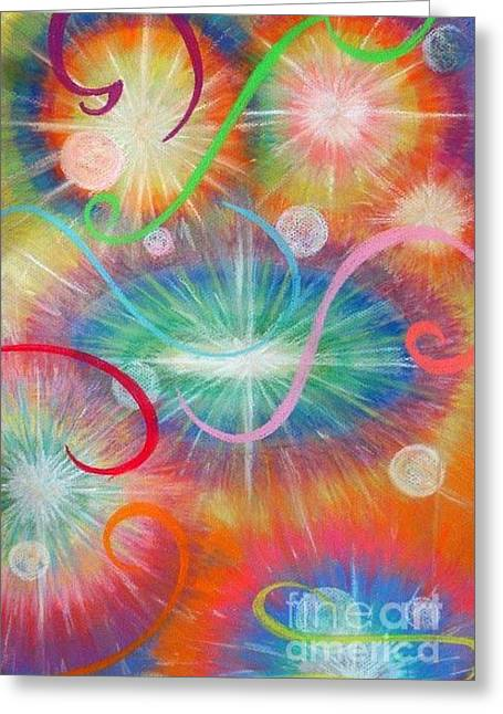 Energy Greeting Card by Gail Allen