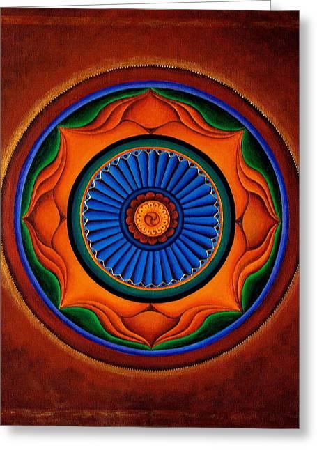Energy Wheel Greeting Card