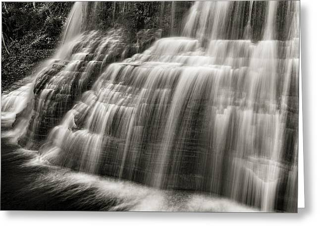 Lower Falls #2 Greeting Card by Stephen Stookey