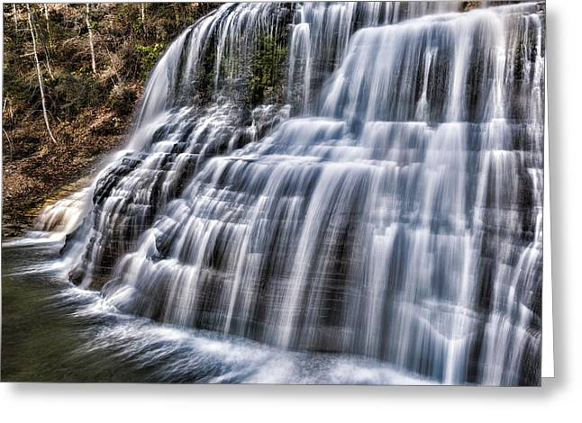 Lower Falls #4 Greeting Card by Stephen Stookey