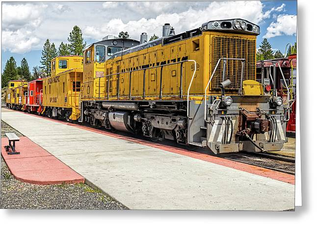 Engine #1042 Greeting Card