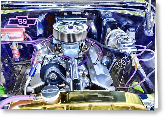 Engine Compartment 3 Greeting Card by Lanjee Chee