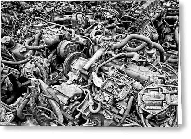 Engine Room Greeting Card by Kevin Felts