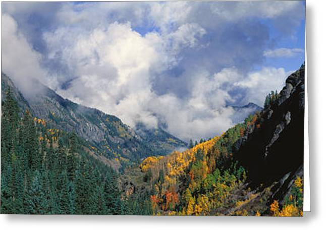 Engineer Pass, Colorado Greeting Card by Panoramic Images